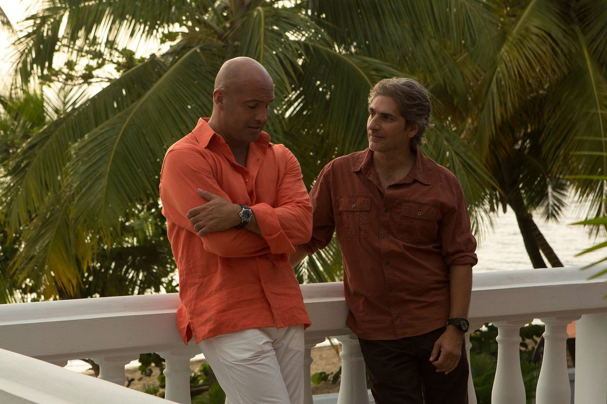 Billy Zane and Michael Imperioli in Mad Dogs.