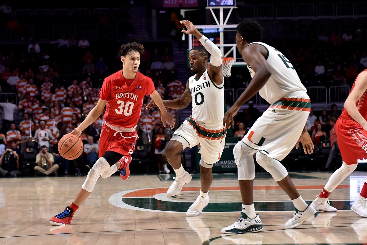 NCAA Basketball: Boston U at Miami