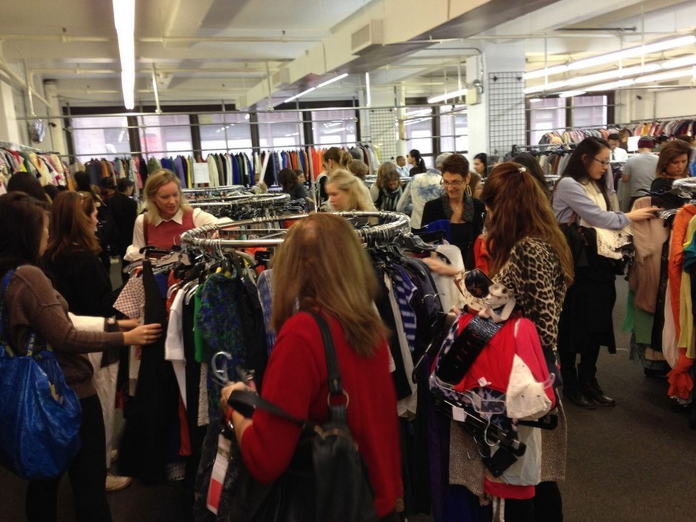 The club monaco sample sale line will test your patience racked ny.
