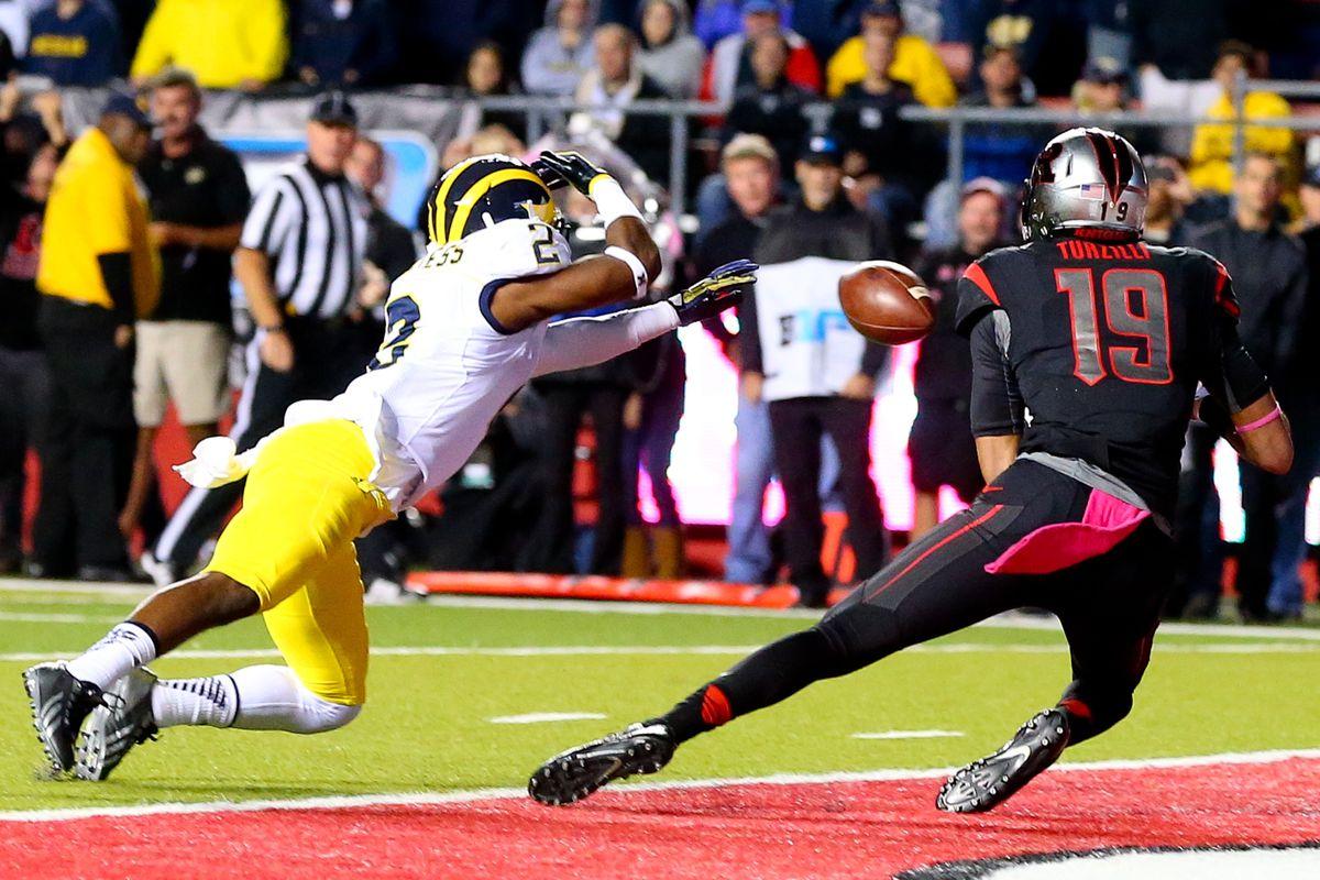 NCAA FOOTBALL: OCT 04 Michigan at Rutgers