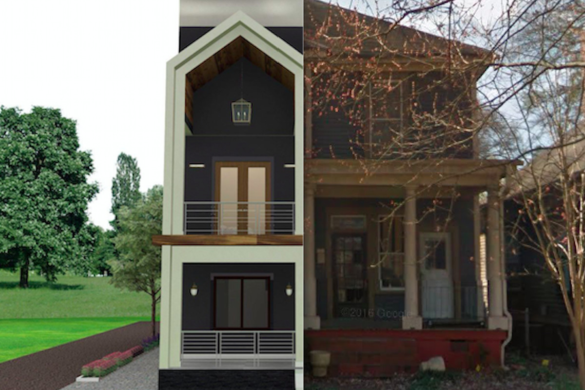 A new home renovation for sale in Old Fourth Ward Atlanta.