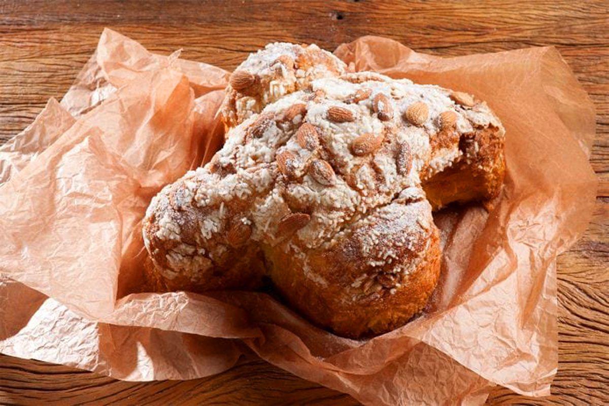 La Colomba sweet artisanal bread, on the menu at the Zeppola Italian Bakery headed to the Venetian.