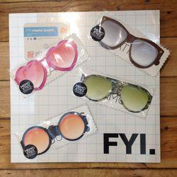 Cool sunglass notepads from Japan $2 (were $10)