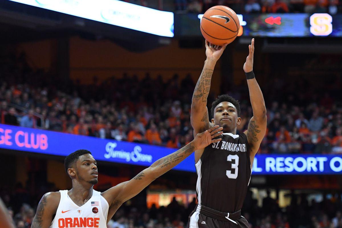 NCAA Basketball: St. Bonaventure at Syracuse