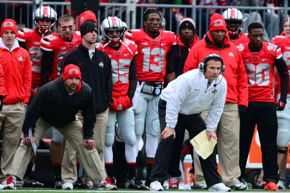 Urban Meyer expects competitive excellence from both his player and his staff.