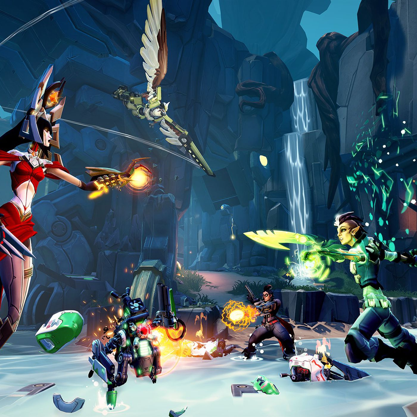 Battleborn is Borderlands-meets-MOBA — but don't call it that | Polygon