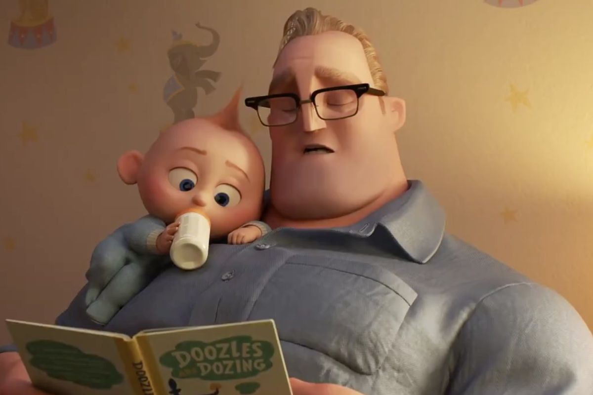 """Fans received their first look at """"The Incredibles 2"""" on Wednesday during NBC's Olympic coverage."""