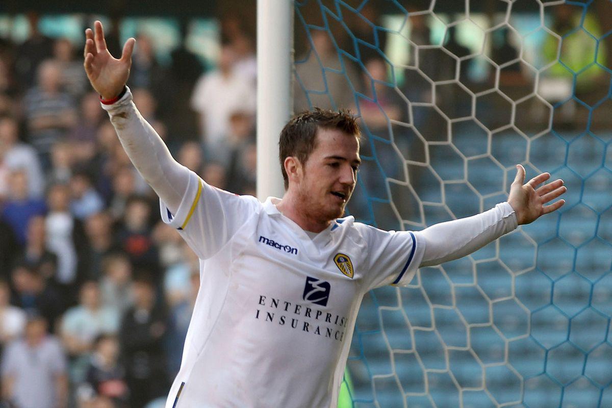 Leeds' top scorer Ross McCormack