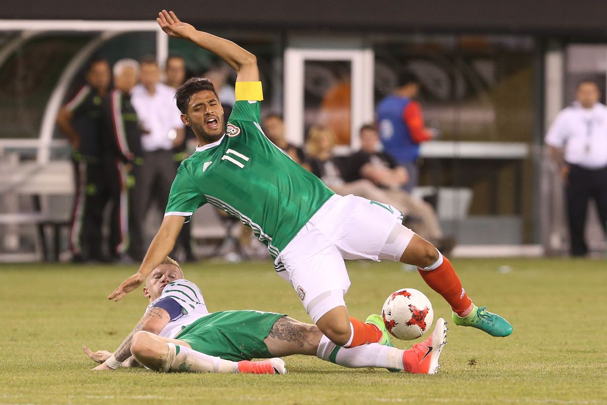 Soccer: Republic of Ireland vs Mexico