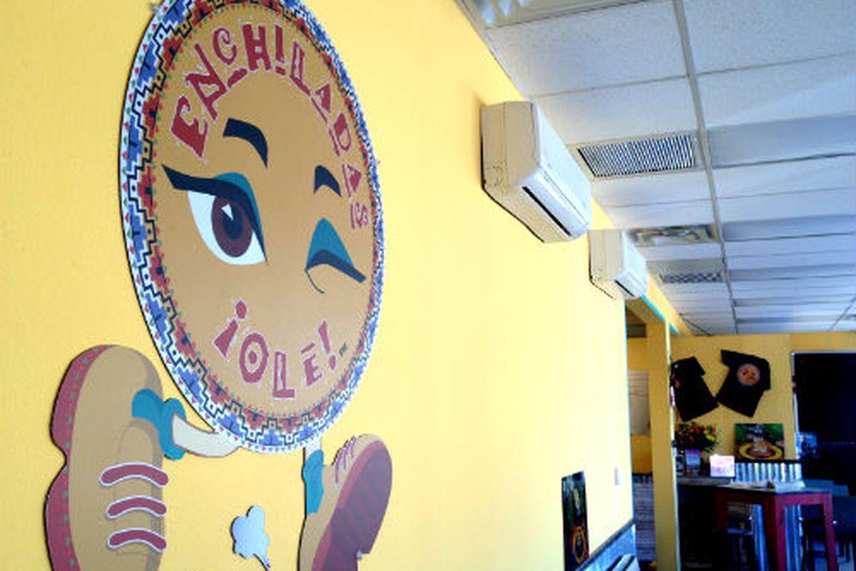 Enchiladas Ole in Ft. Worth.
