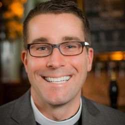 """The Rev. Keith Anderson and his family look for """"Sabbath moments"""" throughout the week."""