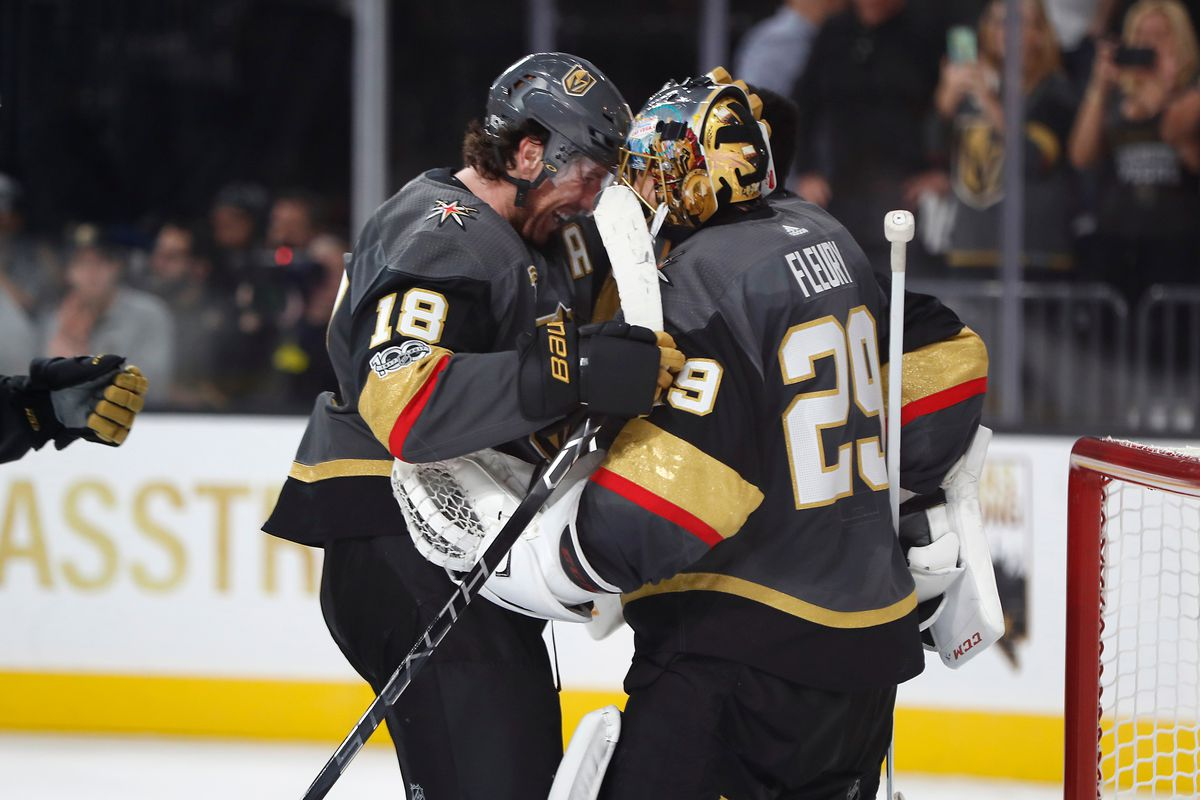 NHL: OCT 10 Coyotes at Golden Knights