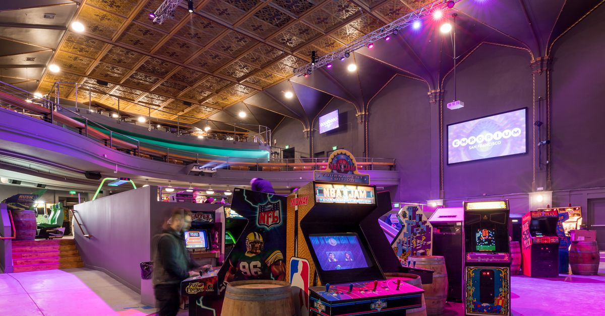 Enter Emporium An Arcade Bar And Venue In A Long Vacant