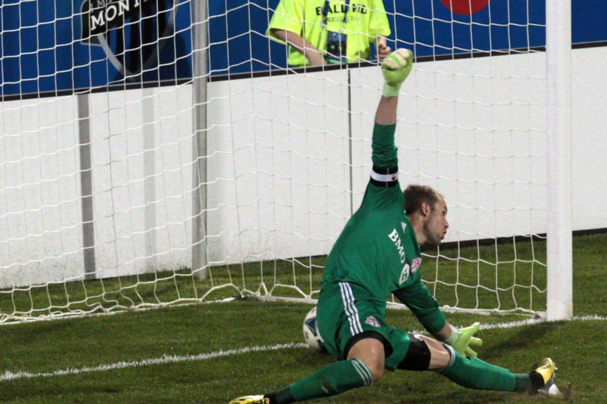 Way too much of this sort of thing. Poor Stefan Frei
