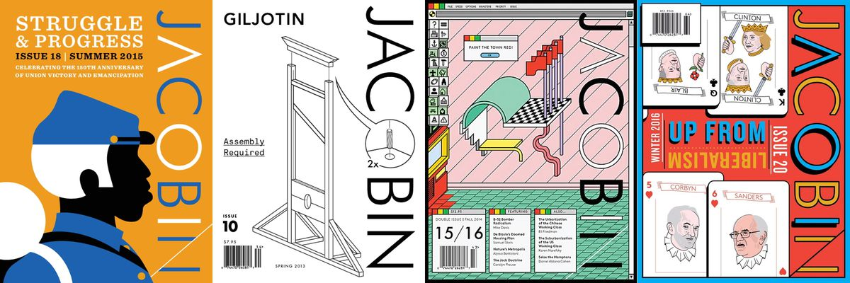 Four of Jacobin's most memorable covers.