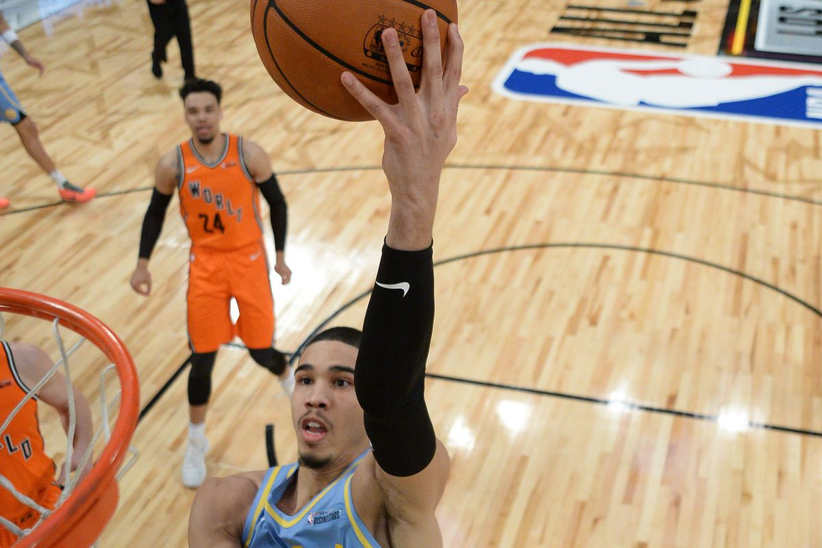 buy online f31ff 7755d Jayson Tatum named to Rising Stars Game at NBA All-Star ...