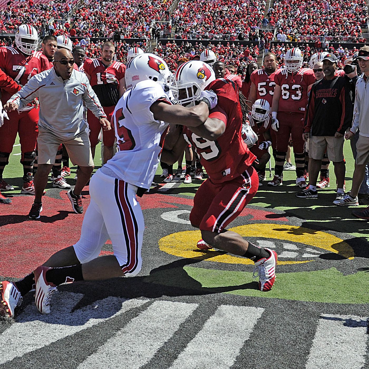 Louisville Updates Football Roster Card Chronicle