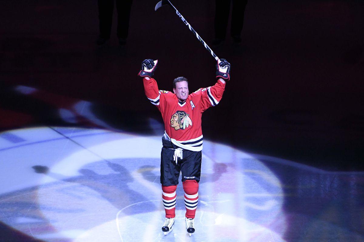 NHL: Vancouver Canucks at Chicago Blackhawks