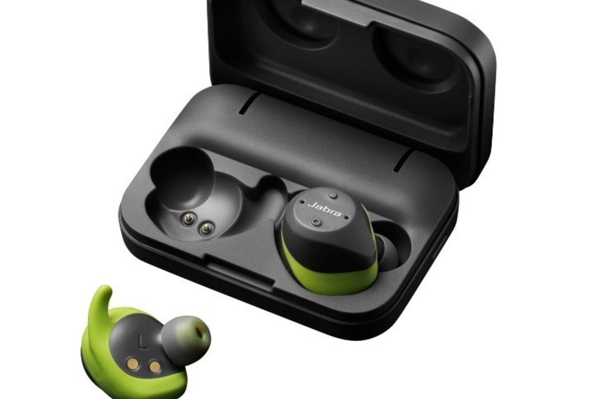 8f096c9b852 Jabra's upgraded wireless earbuds prioritize battery life - The Verge