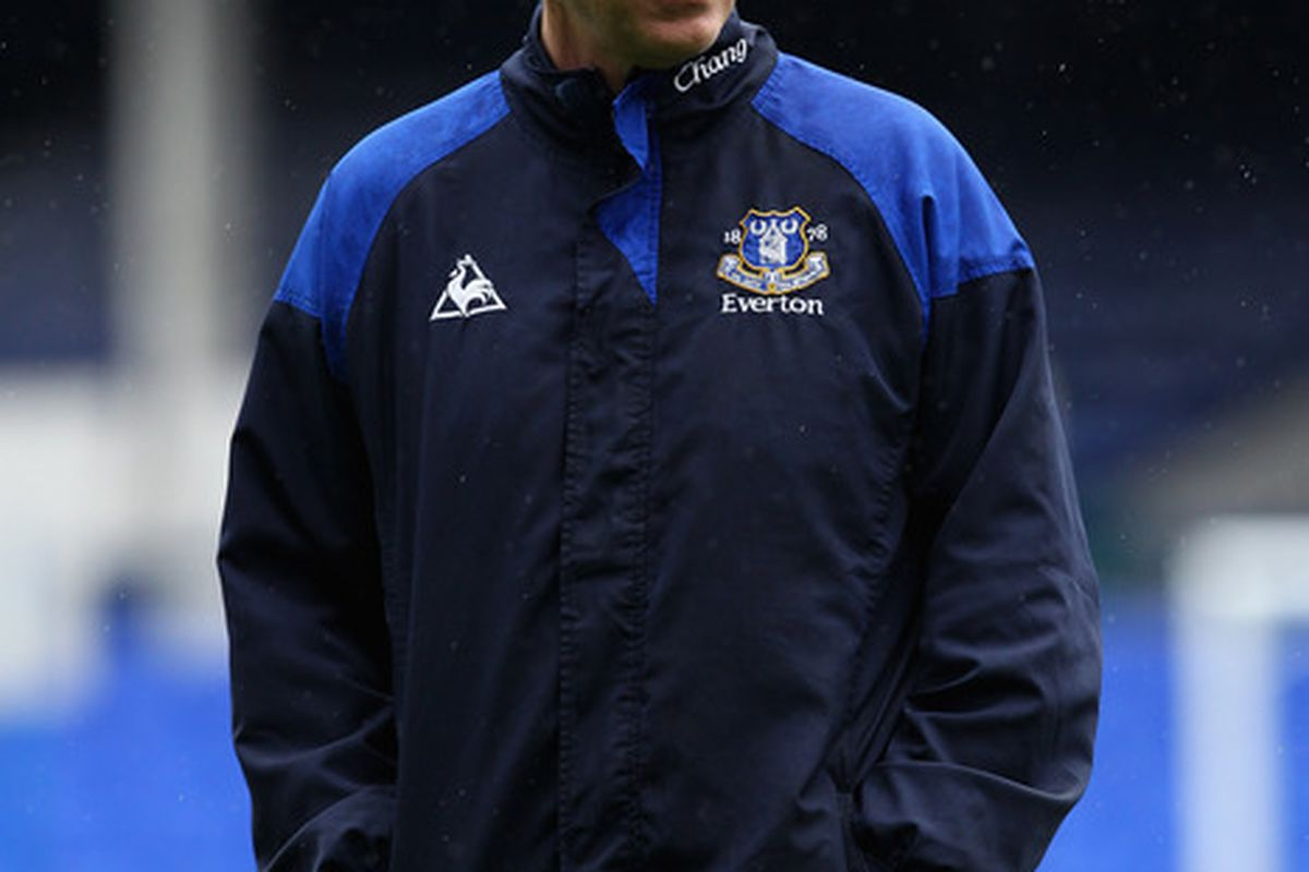 Everton manager David Moyes  - will he stay, or will he go?  (Photo by Clive Brunskill/Getty Images)