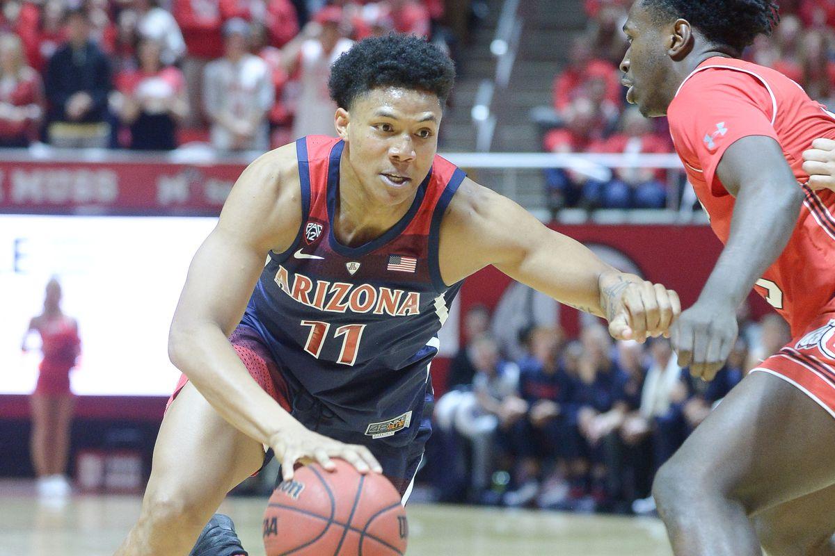 COLLEGE BASKETBALL: FEB 14 Arizona at Utah