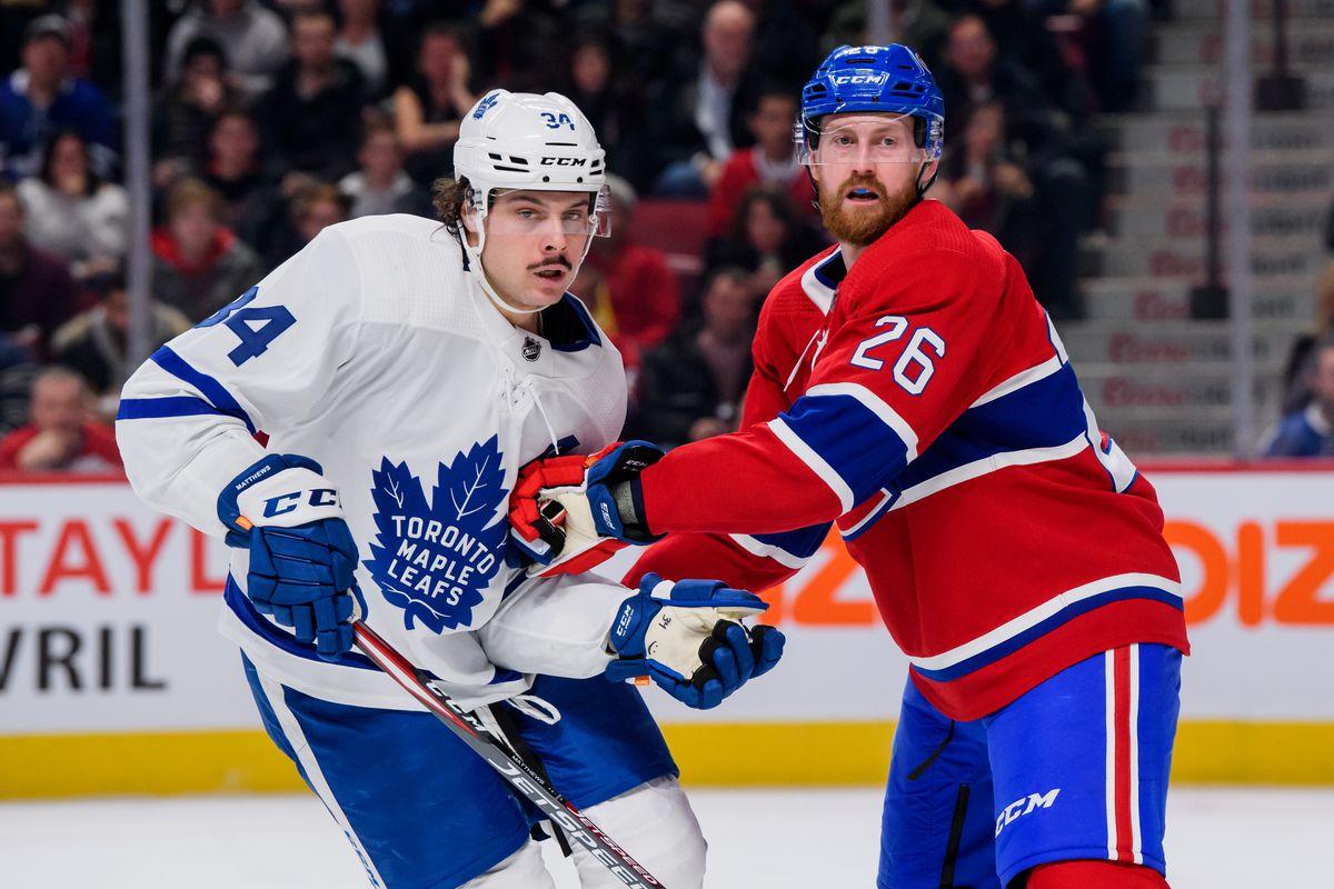 NHL: FEB 08 Maple Leafs at Canadiens