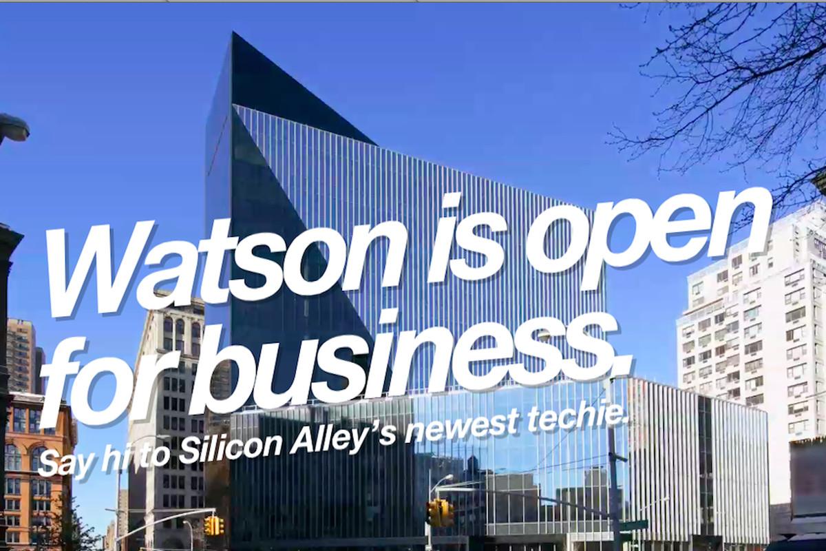 IBM Watson Group Astor Place (Credit: IBM)