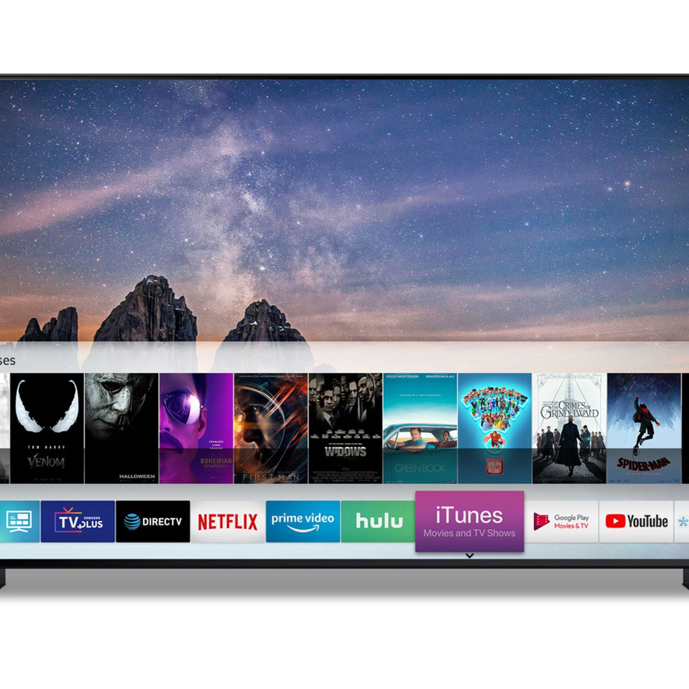 Apple is putting iTunes on Samsung TVs - The Verge