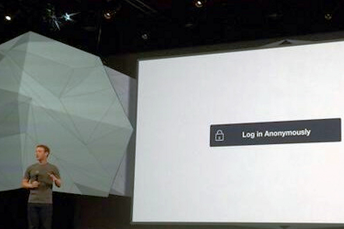 Facebook Will Let You Log In to Apps Anonymously