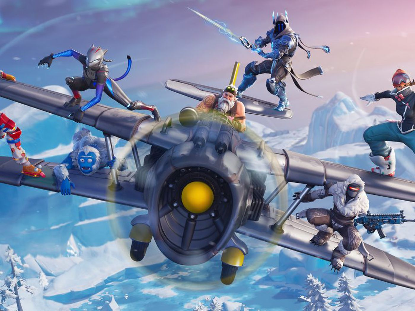 Fortnite Season 7 Arrives With Santa Planes And Lots Of Snow The