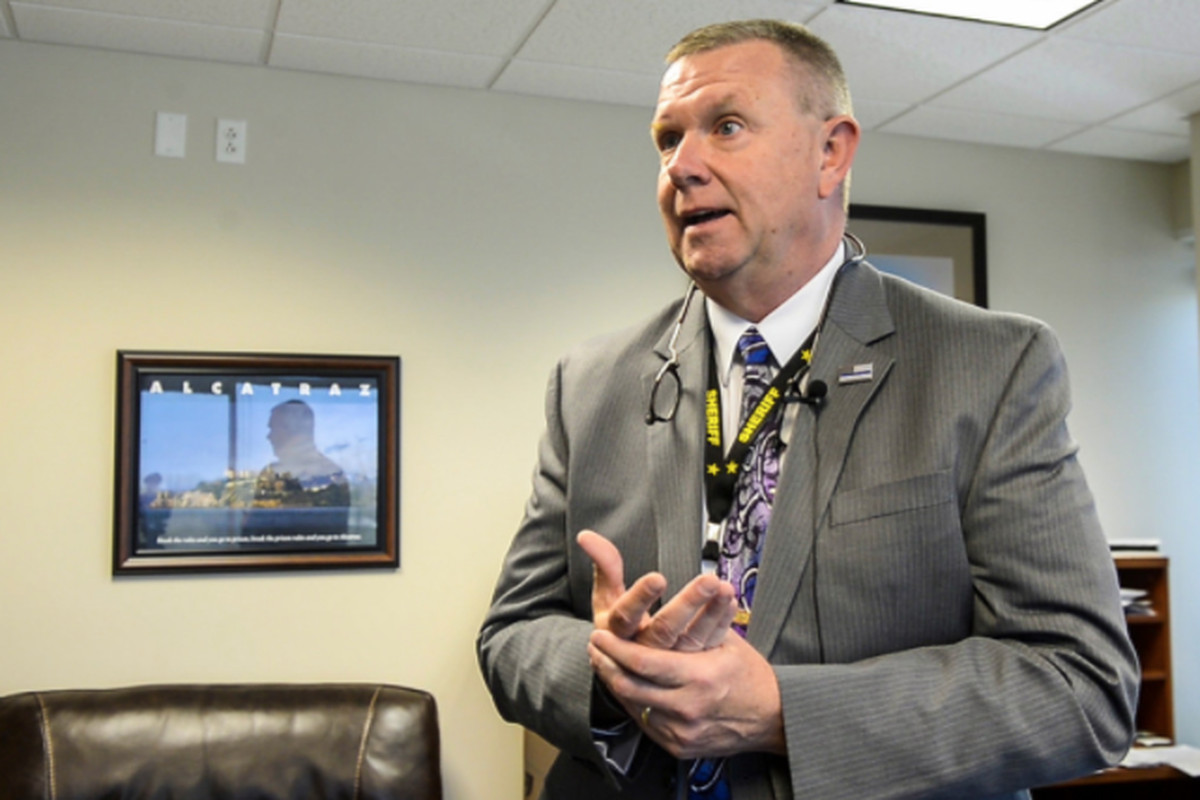 Kankakee County Sheriff Mike Downey