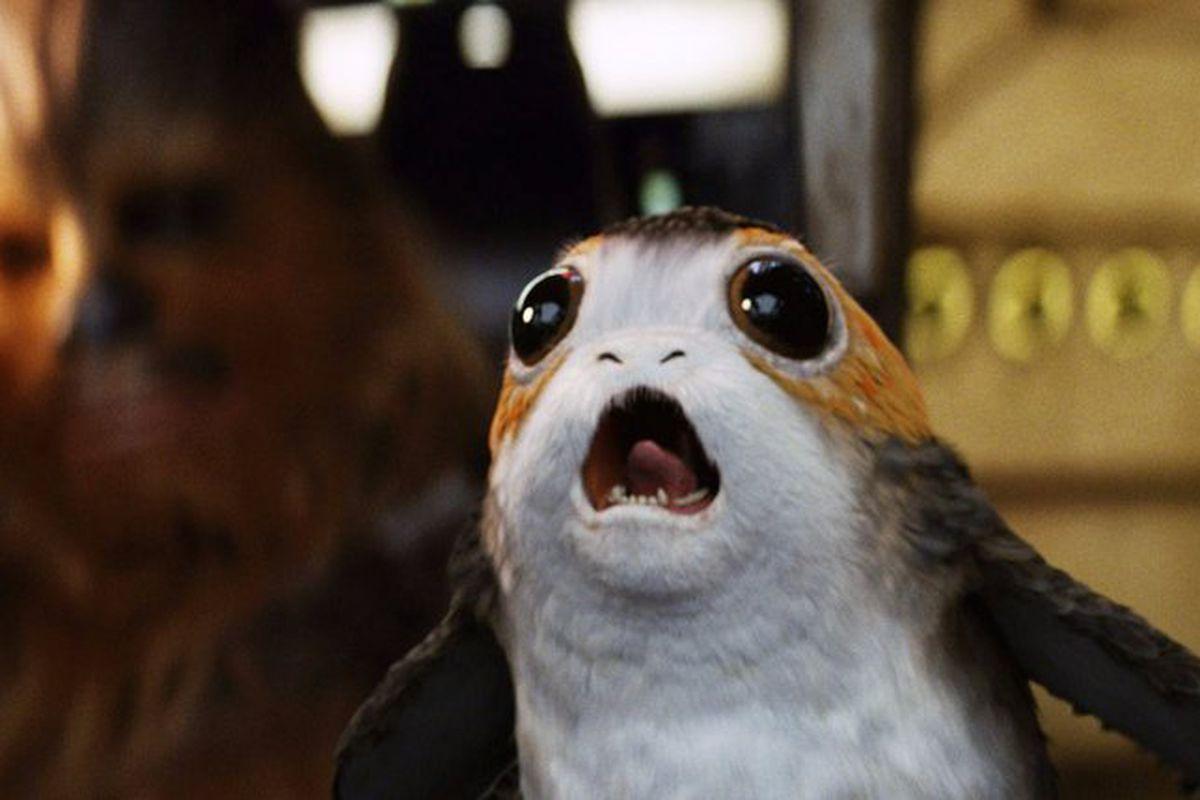 """Résultat de recherche d'images pour """"star wars last jedi porg"""""""
