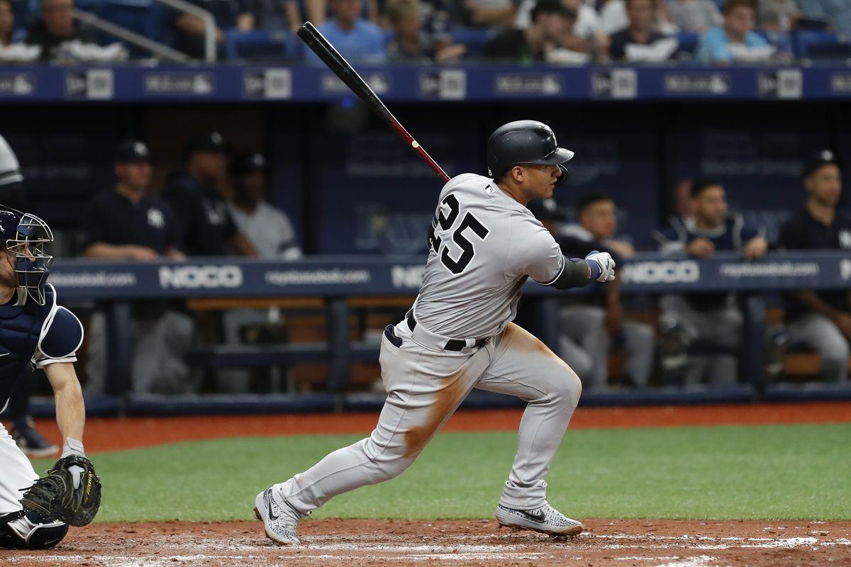 MLB: MAY 11 Yankees at Rays