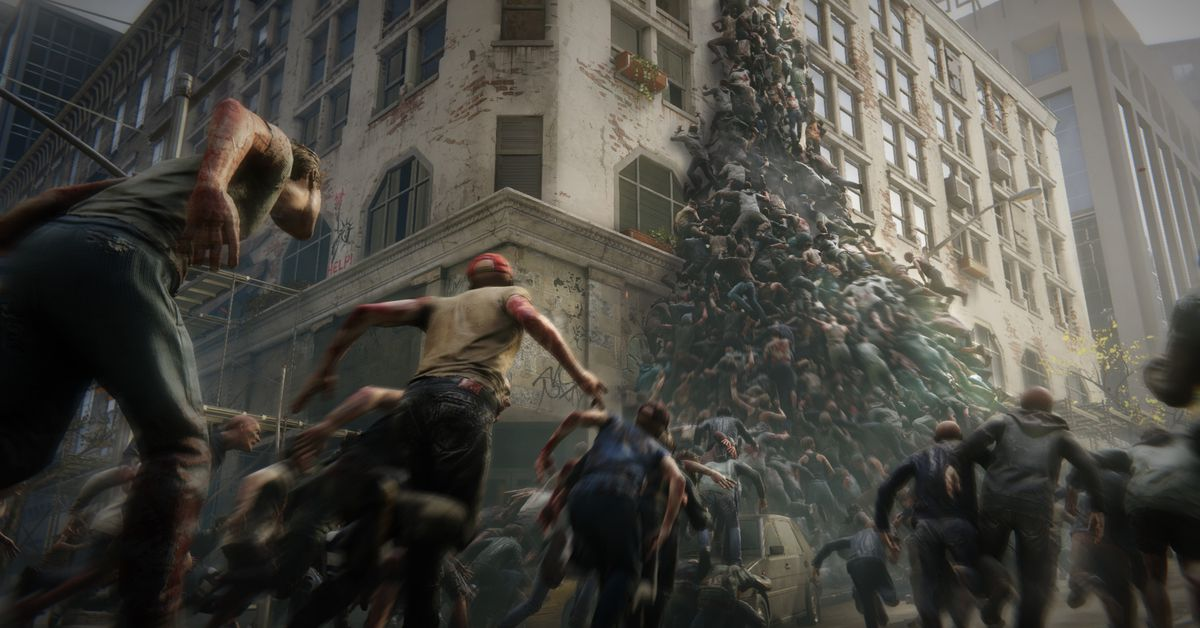 World War Z is becoming a video game