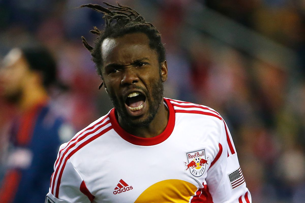 We are the official fan club of Peguy Luyindula, sorry rest of the Red Bulls we still kind of love you