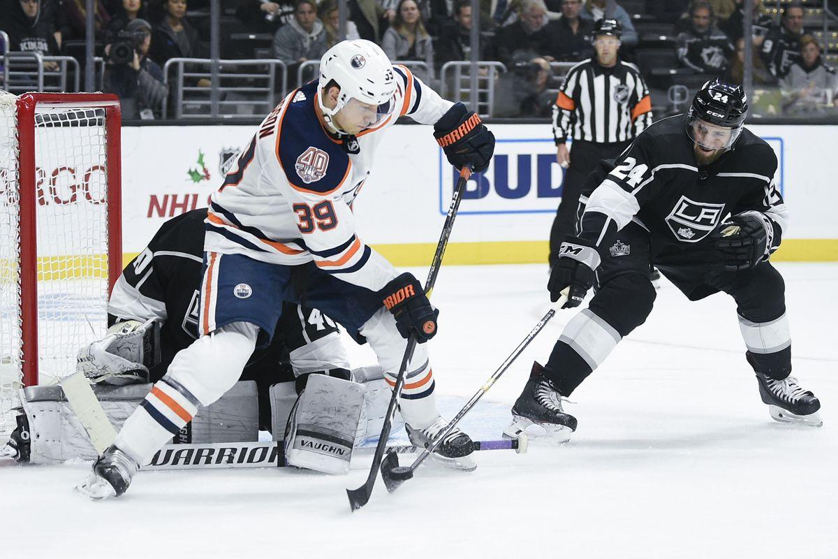 NHL: Edmonton Oilers at Los Angeles Kings