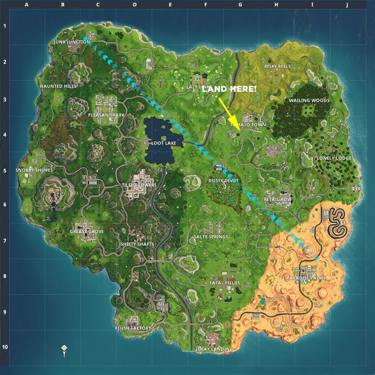 treasure map found in risky reels
