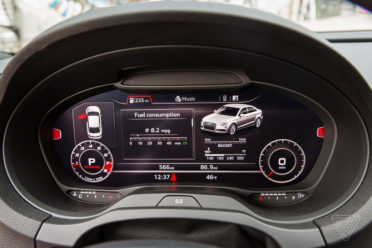 ScreenDrive: The 2017 Audi S3 reinvents the moving screen - The Verge