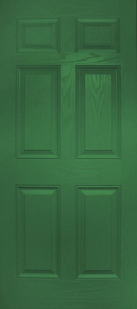 Colonial Style Fiberglass Door