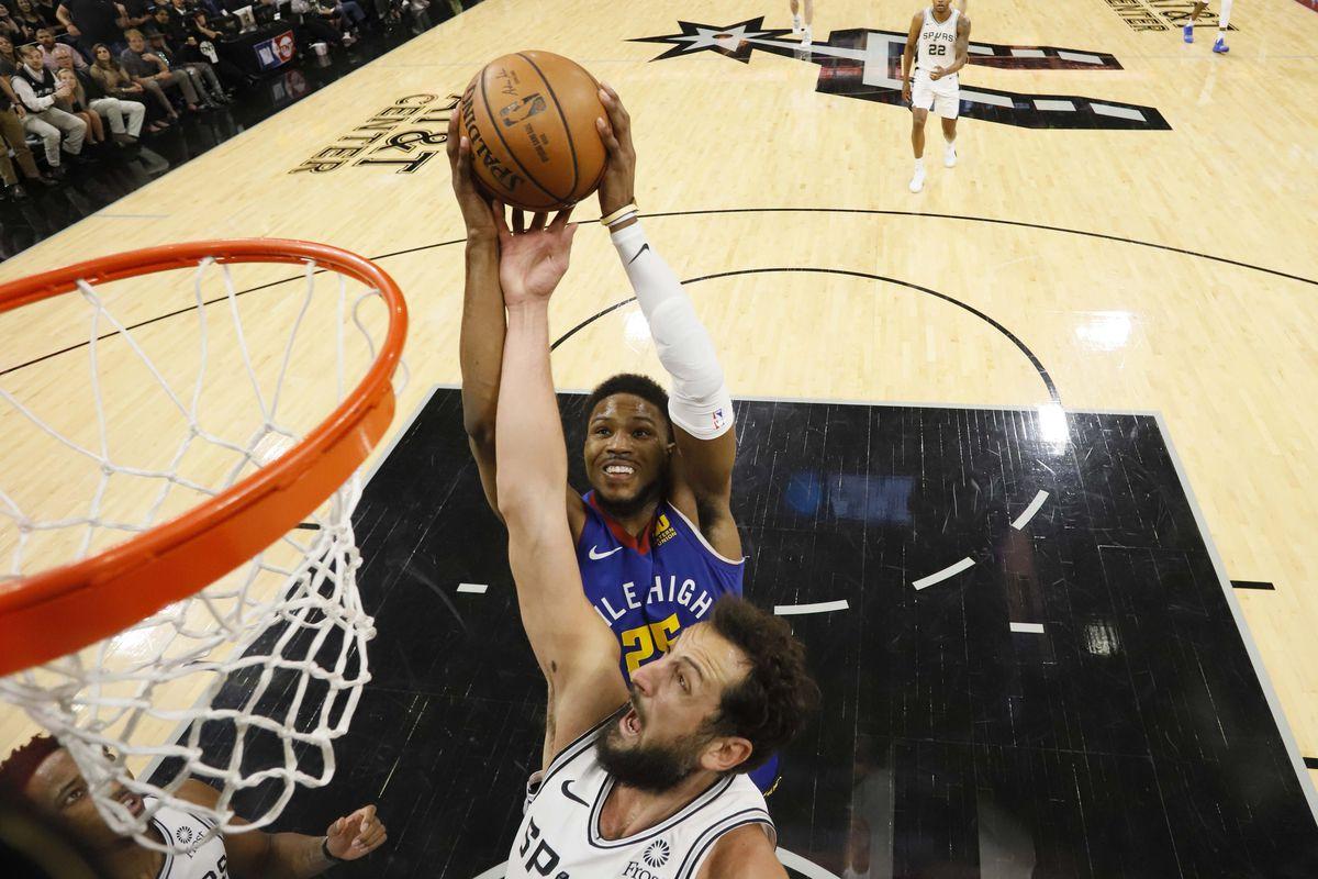 9166ec906d5 Preview  Denver Nuggets take on San Antonio Spurs in winner take all game 7