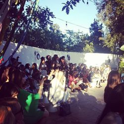 """The crowd included <i>Just Jared</i>'s Jared Eng, celebrity stylist <a href=""""http://la.racked.com/archives/2013/03/14/stars_and_stylists_toast_lofts_robertson_popup.php"""">Nicole Chavez</a>  and TV personality Rosci Diaz."""
