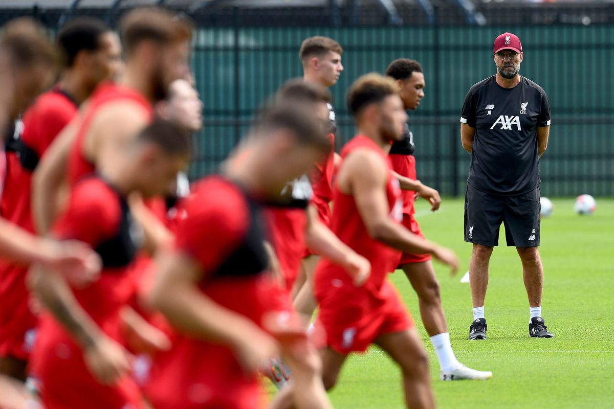 Liverpool Training & Press Conference