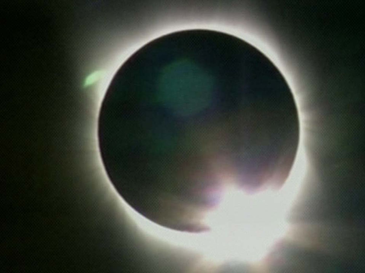 Get A Rare Satellite View Of Last Night S Eclipse The Verge