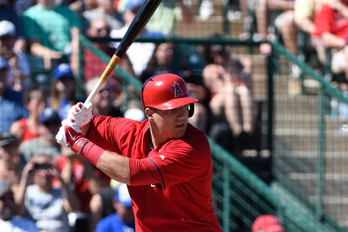 You never need an excuse to show a picture of Mike Trout.