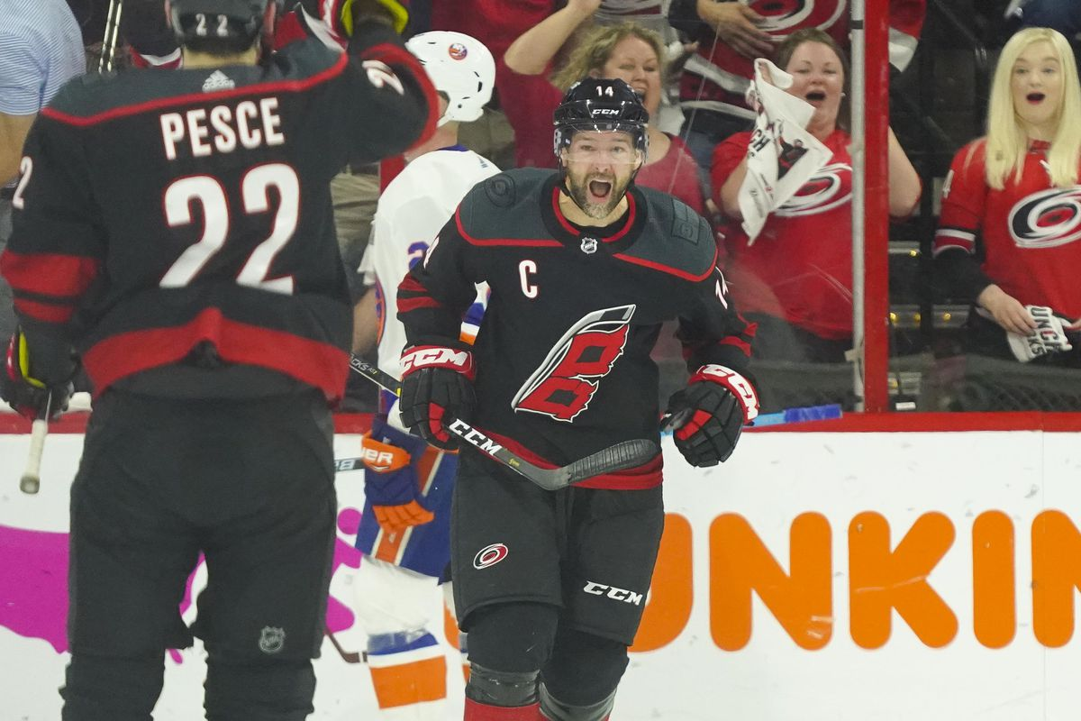 NHL: Stanley Cup Playoffs-New York Islanders at Carolina Hurricanes