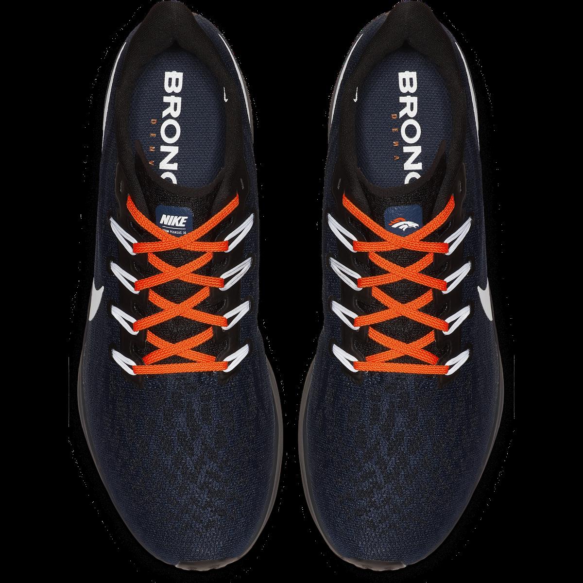 quality design 39156 4f112 Nike Air Zoom Pegasus 36 Denver Broncos shoe - Mile High Report