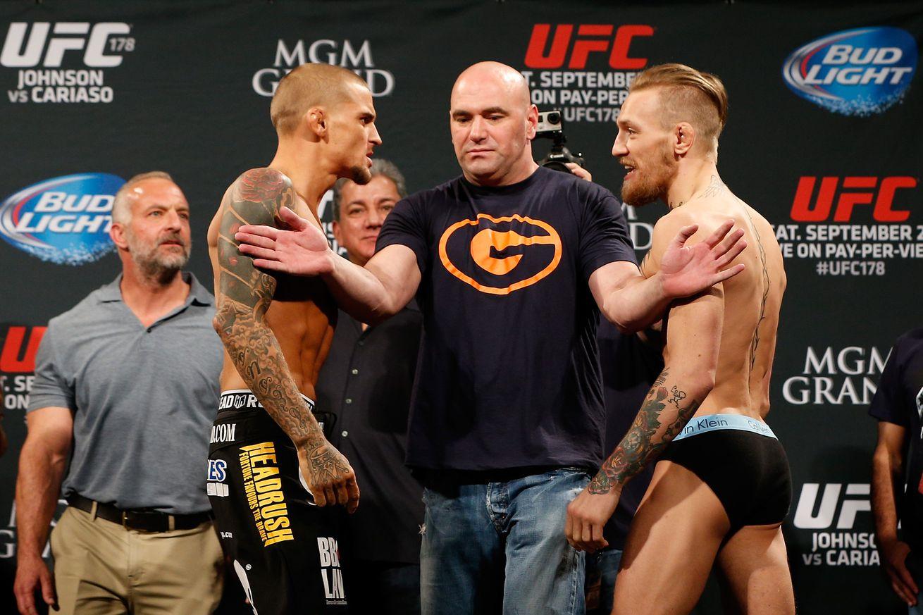 UFC 178 Weigh-in