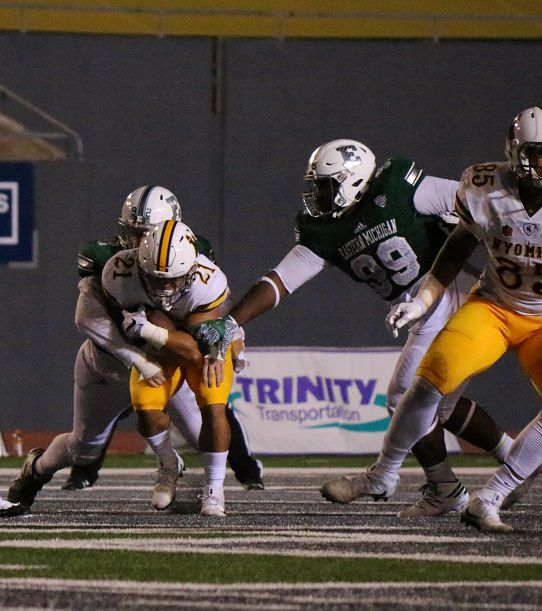 Eastern Michigan Vs. Wyoming Football in Pictures
