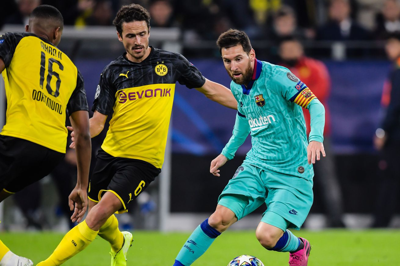 Match Recap: BVB Outplay Barcelona in Dortmund, But Can?t Solve Ter Stegen