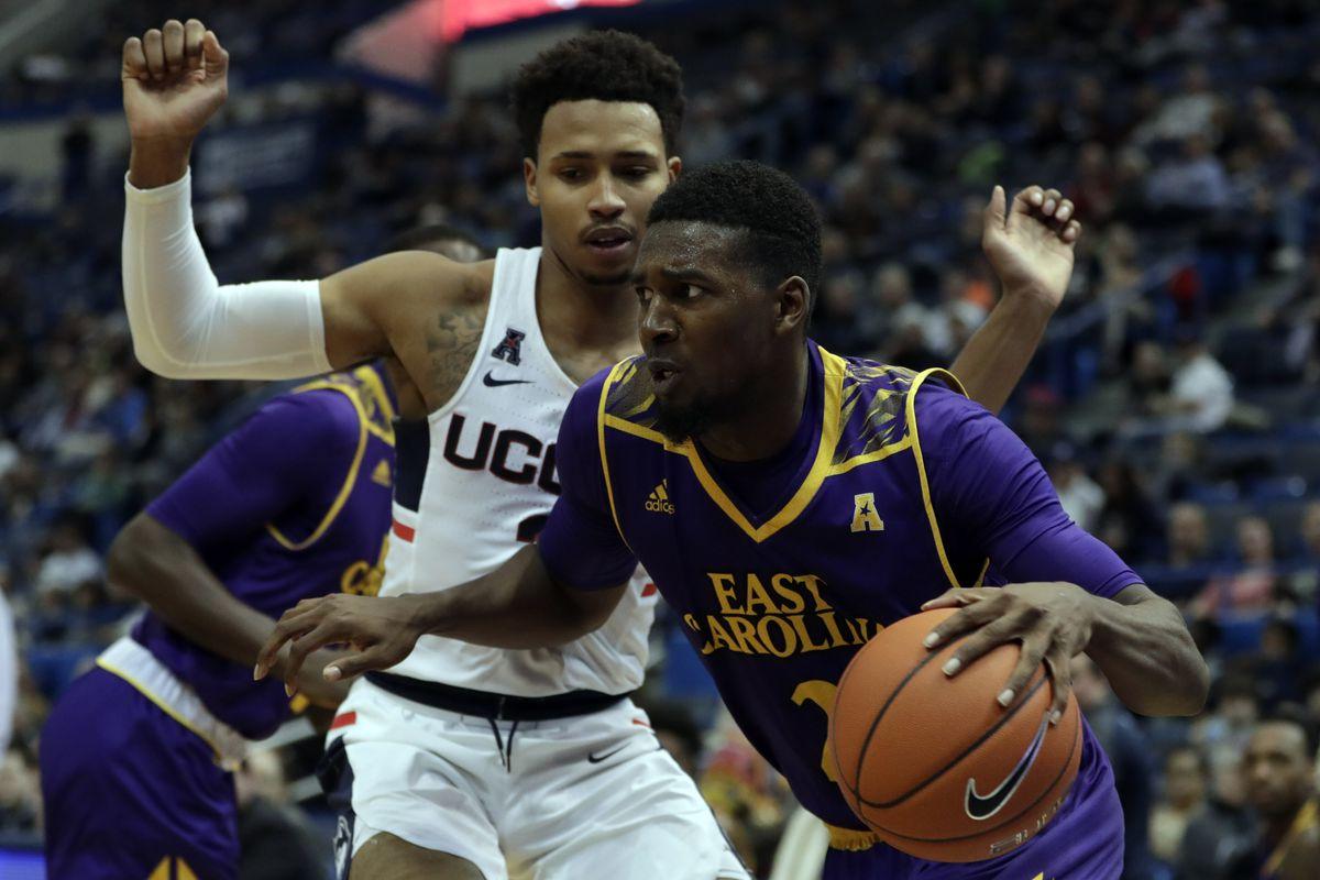 NCAA Basketball: East Carolina at Connecticut